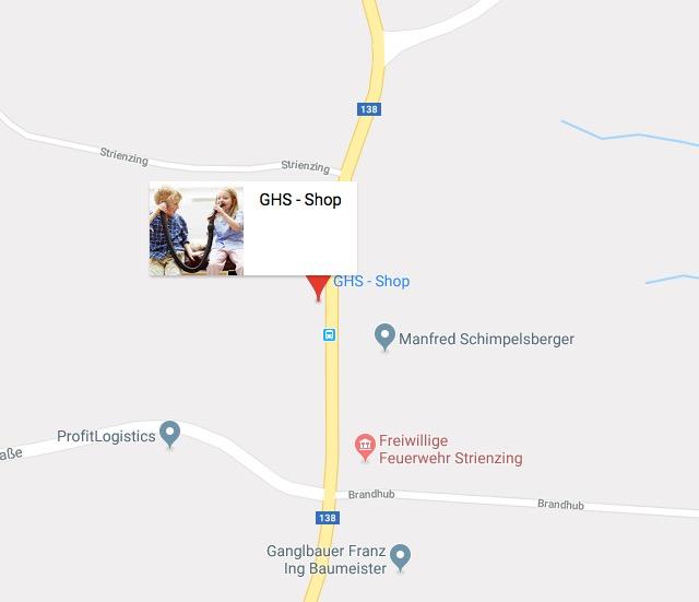 GHS-Shop auf Google Maps
