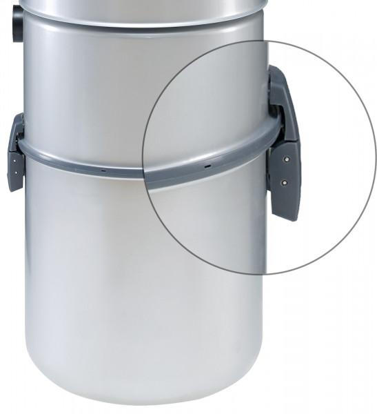 allaway Ersatzteil Set Schnappverschluss Staubbehälter C/A Serie, Halteklammer